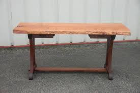 live edge desk with drawers live edge cherry desk with curvy legs corey morgan