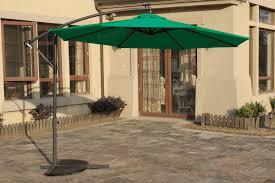 solar led umbrella u0026 base 50616 50617 2 colors silver state