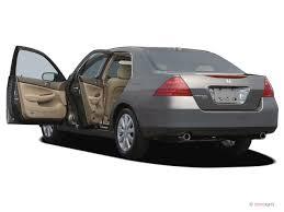 2007 v6 honda accord image 2007 honda accord sedan 4 door v6 at exl w navi open doors