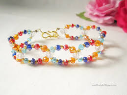bead tutorials crystal bracelet images Colorful crystal bracelet tutorial a little love everyday jpg