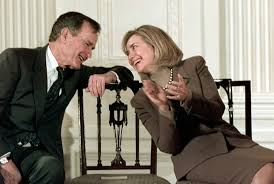 ex president george h w bush reportedly intends to vote for