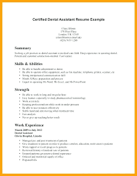 resume exles for dental assistant here are dental assistant resume objectives goodfellowafb us