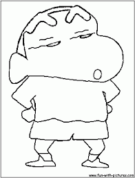 sinchan shin chan pictures for colouring image gallery hcpr