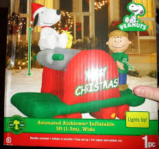 peanuts airblown inflatables http www ebay itm snoopy peanuts brown