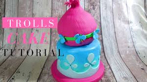 trolls cake delicious sparkly cake youtube