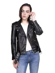 biker jacket sale womens biker jacket black u2022 deadwood u2022 tictail