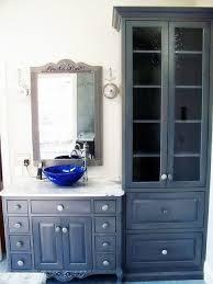 Kitchen Door Designs Door Design Antique Gray Bathroom Vanity With Framed Mirror And
