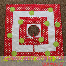 boxy christmas tree skirt