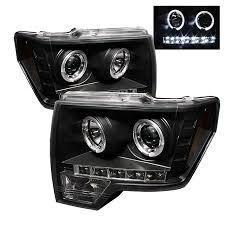 2012 ford f150 projector headlights spyder auto ford f150 09 14 projector headlights halogen model