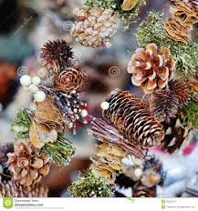 Furniture Design Pine Cone Christmas Tree Ornaments