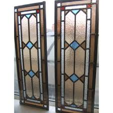 victorian glass door panels 106 mosaic victorian stained glass panels