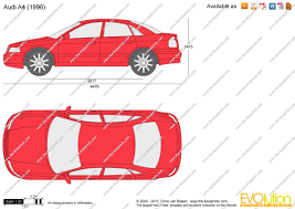 the blueprints com vector drawing audi a4