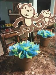 monkey decorations for baby shower monkey baby shower decorations for a boy cairnstravel info