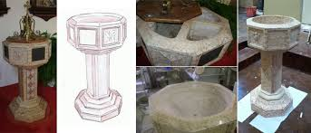 baptismal fonts custom baptismal fonts from henninger s church services in cleveland