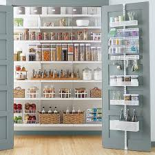 elfa utility white mesh pantry door u0026 wall rack the container store