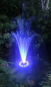 Floating Solar Pond Lights - floating fountains