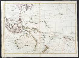 Map Of Oceania 1792 Weigel U0026 Schneider Large Old Antique Map Of Oceania