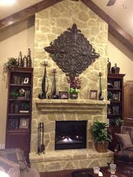 fireplace mantel decor with stone how to decorate a rustic idolza