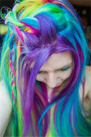 emo hair in rainbow style for young girls 9 fashion u0026 trend