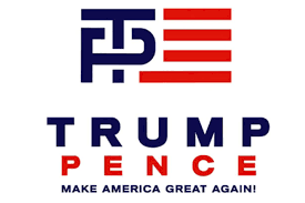 Two Racing Flags Logo Like Airbnb Trump Pence Logo Designer Forgot That The Internet