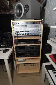 Ikea Audio Rack 228 Best 19 Inch Rack U0026 Desk Building Diy Images On Pinterest