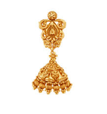 kerala style jhumka earrings jhumka earrings tanishq