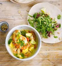 cuisiner la mangue salade fraîcheur crevettes mangue les meilleures recettes de