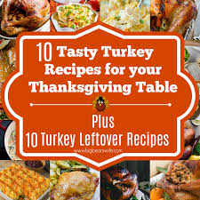 10 tasty turkey recipes for your thanksgiving table plus 10 turkey