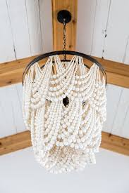 bead chandelier amazing wood bead chandelier with chic plan 18 zazoulounge