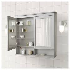 Bathroom Ideas Bathroom Medicine Cabinet With Black Mirror On The Hemnes Mirror Cabinet With 2 Doors Black Brown Stain 32 5 8x6 1