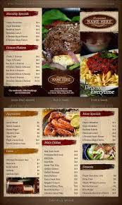 46 best restaurant menu design templates psd download