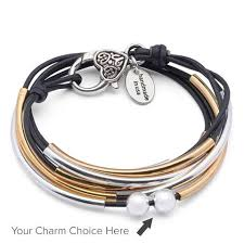 silver leather wrap bracelet images Lizzy james jewelry artisan jewelry artisan bracelets jpg