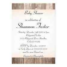 rustic baby shower invitations dancemomsinfo com