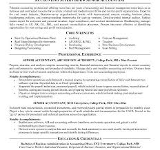 Senior Accountant Resume Examples by Awesome Design Ideas Accounting Resume Samples 10 Accountant
