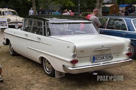 1959 opel kapitän p 2 6 l rear view post war paledog photo