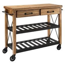 crosley furniture kitchen cart roots rack industrial kitchen cart wood crosley target