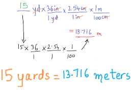 how do you convert meters to yards k k space 2017