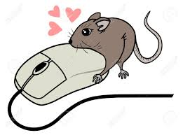 draw funny computer mouse draw royalty free cliparts vectors and