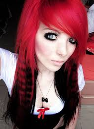 pictures on black hairstyles with red color cute hairstyles for