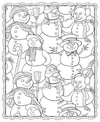 holiday coloring pages coloring page