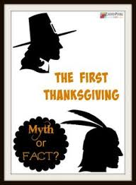 thanksgiving history random fact infographic text type