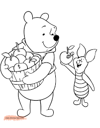 winnie the pooh u0026 friends coloring pages 5 disney coloring book