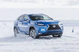 lexus is winter tires a day at the bridgestone winter driving motor trend