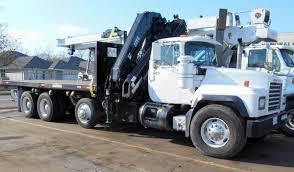 mack trucks for sale hiab 225 e 7 crane on mack truck knuckleboom trader