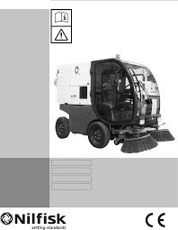 100 street sweeper manual guide tennant model 830 ii street