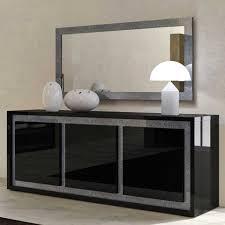 perfecta black modern dining table