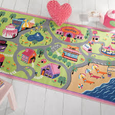 The Rug Seller Matrix Girls World Washable Play Rug Free Uk Delivery The Rug