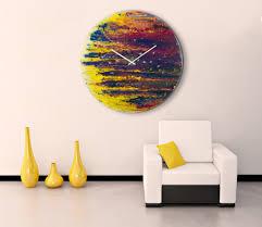cozy wall clocks art 13 big wall clock art painting wall art with