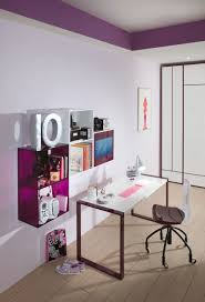 teenage bedroom design looks chic with colorful ideas