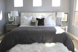 Cream Tufted Bed Alice Lane Home Bedrooms Gray Duvet Gray Bedding Dark Gray